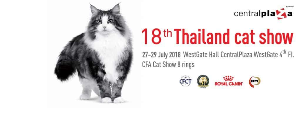 Thailand Cat Show 2018